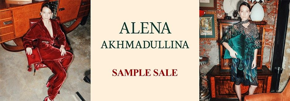 ALENA AKHMADULLINA SAMPLE SALE